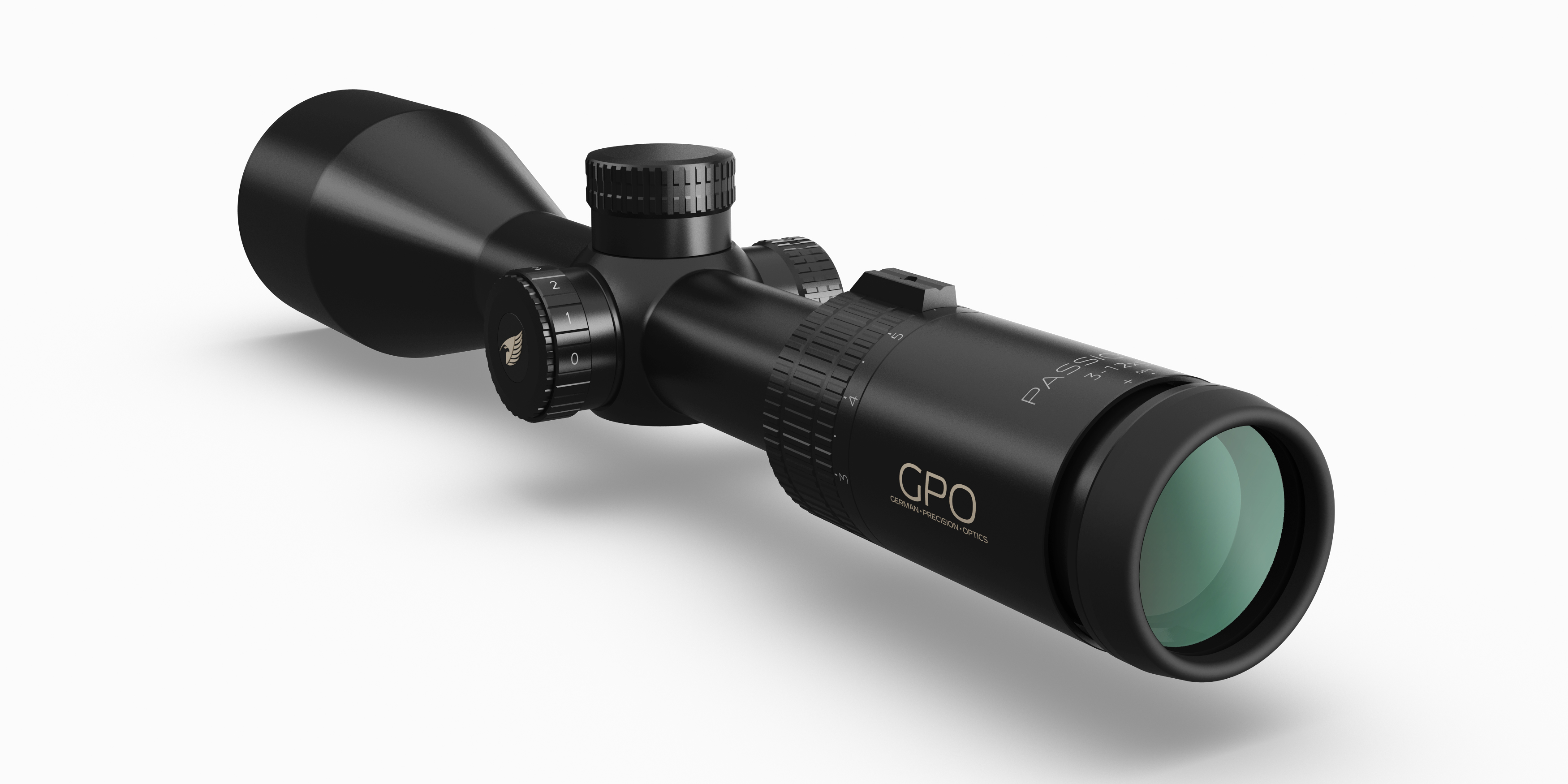 GPO - 3-12x56i with iCONTROL Illumination