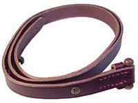 Quick Shortening Leather Sling A-102